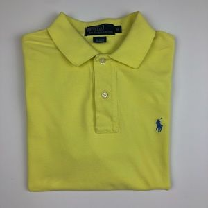 Polo By Ralph Lauren Yellow Polo Size M